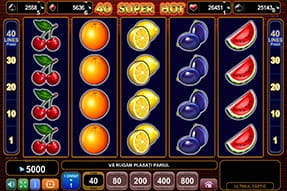 Slot 40 Super Hot la Circus Casino