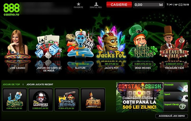 888 casino software unic Dragonfish