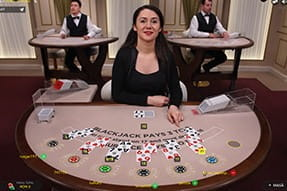 Blackjack live cu mize flexibile