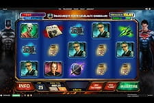 Slot Batman v Superman la Betfair