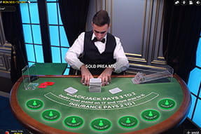 Blackjack F la Sportingbet Live