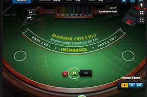 Blackjack Lux la Maxbet Mobile