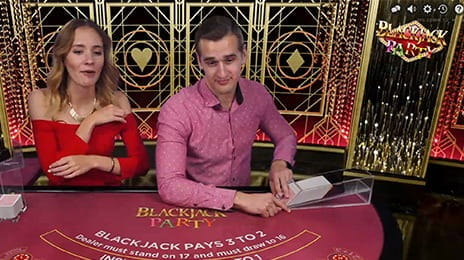Joci și câștigi la blackjack party
