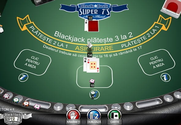 Joacă Blackjack Super 7'S demo