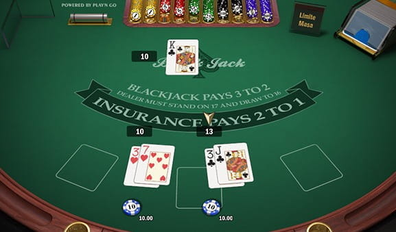 European Blackjack la Winmasters
