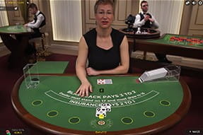Bucharest Blackjack la NetBet Casino live