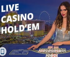 Exclusiv la Fortuna Casino live – Casino Hold'Em