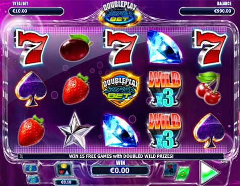 Slot 777 si fructe Double Play Superbet