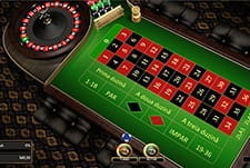 Ruleta europeana la 888 Casino