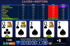 Joacă Jacks or Better la WinBet Casino Mobil
