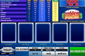 Joc Video poker la NetBet mobil