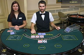 Casino Hold' Em live online in Romania