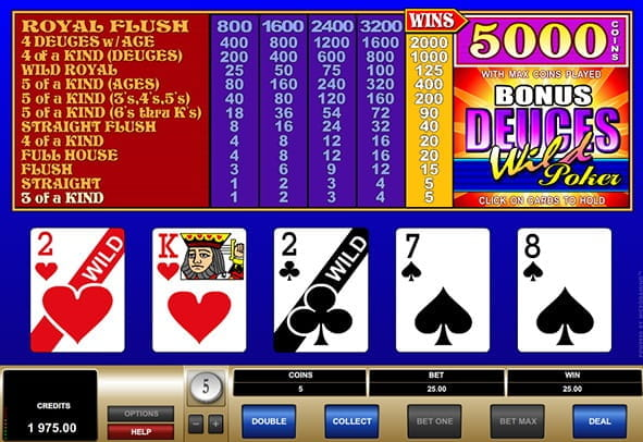 Video poker cu jackpot progresiv
