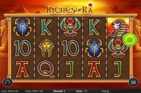 Slot Riches of Ra la Winmasters Casino