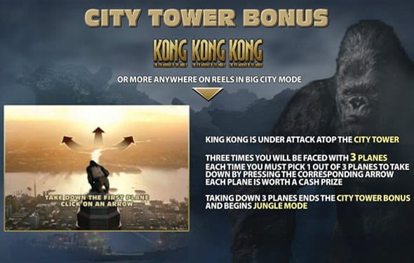 Kong: 8th Wonder of the World de la Playtech