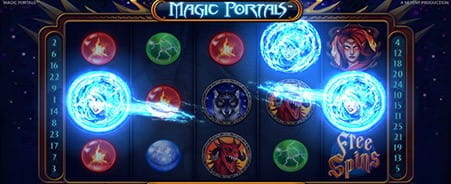Joc de slot Magic portals