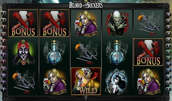 Blood Suckers exclusiv la Unibet