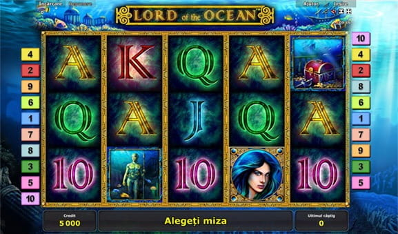 Lord Of The Ocean Slot la Admiral Casino