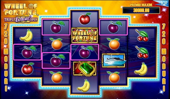 Wheel of Fortune este un slot IGT