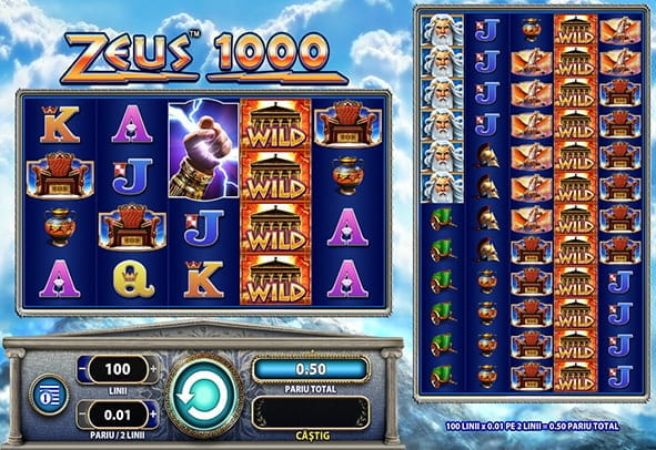 Incercati Zeus 1000 slot in varianta demo