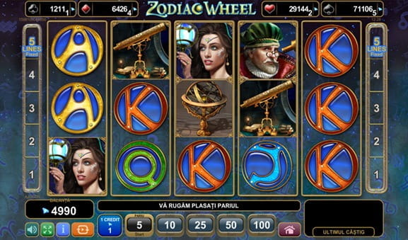 Zodiac Wheel Slot la Netbet Casino
