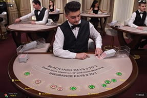 White Blackjack de la Winmasters Casino