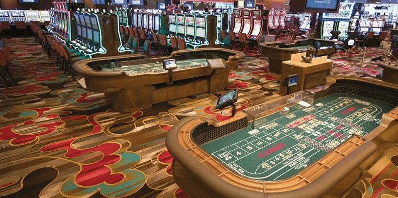 Casino rivers interior