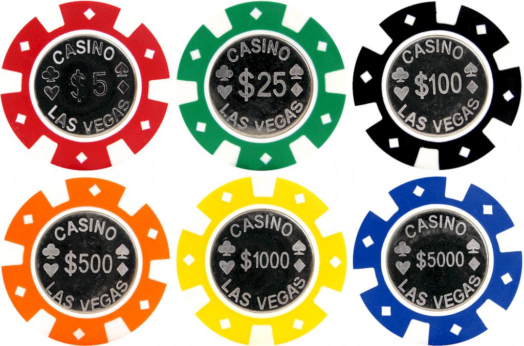 Poker chips – 4 tipuri principale de jetoane, pe care trebuie sa le aveți