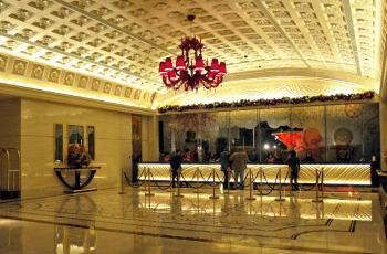 Interiorul Hotelului Galaxy Macao